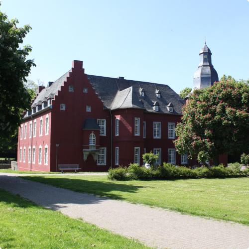 Geschäftsstelle der Business Park Alsdorf GmbH in der Alsdorfer Burg